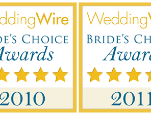 Custom Paper Works Awarded Wedding Wire's Bride's Choice Award Multiple Years