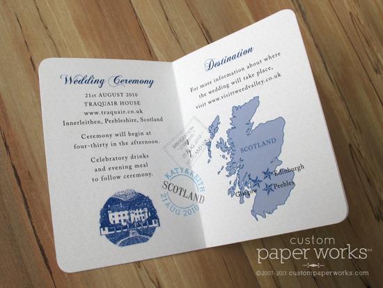 custom passport invitation details  unique papers  u2013 custom