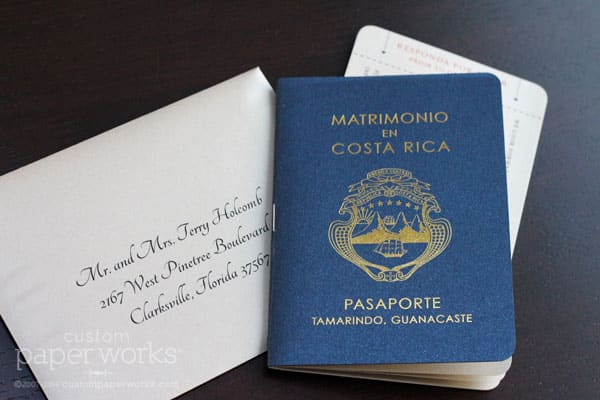 Passport-invitation-for-costa-rica-wedding