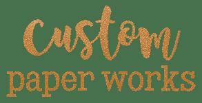 Custom Paper Works Logo