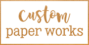 Custom Paper Works Mobile Logo