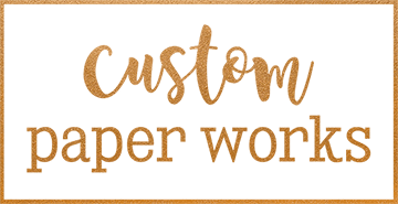 Custom Paper Works Mobile Retina Logo