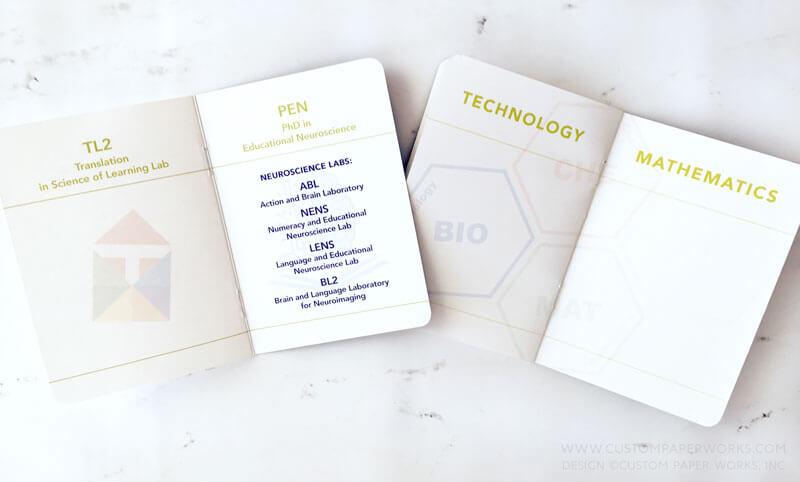 Department open house tour passport booklet